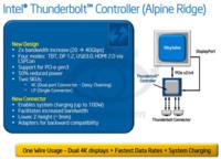 Thunderbolt 3 duplicará la velocidad de transferencia