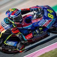Jakub Kornfeil lidera los entrenamientos de Moto3 en Assen y Arón Canet sufre