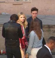 Pues al final Chloë Moretz parece que sí se ha echado de suegra a la Beckham