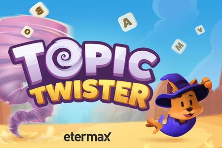 Topic Twister es un nuevo juego de duelos de vocabulario por turnos de los creadores de Apalabrados