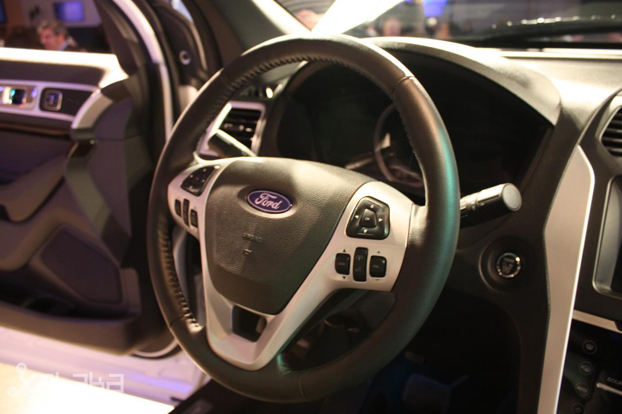 Ford Sync y MyFordTouch, el nuevo interfaz de Ford para coches