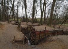 Así se conservan hoy las infernales trincheras de la Primera Guerra Mundial