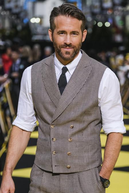 Ryan Reynolds Revive El Tejido De Principe De Gales En Su Mas Reciente Look De Alfombra Roja 3