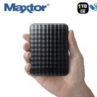 Disco duro externo Maxtor STSHX-M101TCBM, con 1TB de capacidad, por 44,95 euros y envío gratis