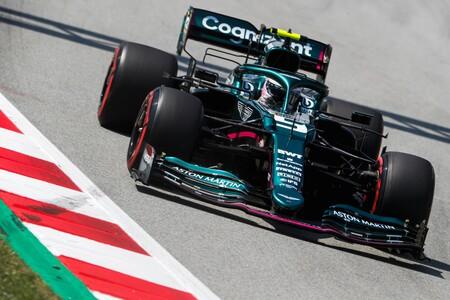 Vettel Espana F1 2021