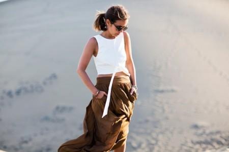 collage vintage asos falda