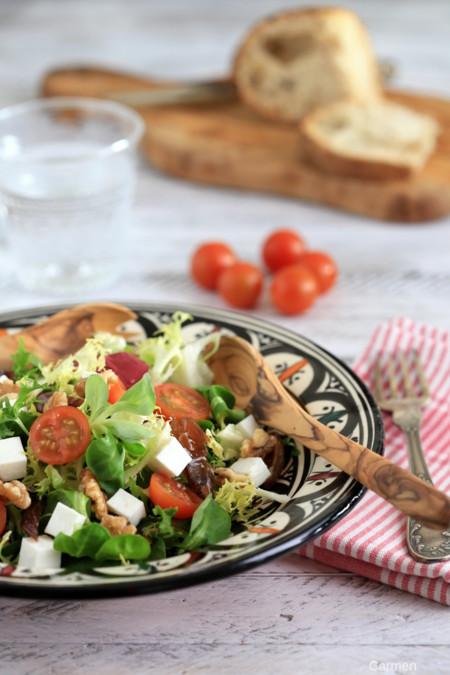 Paseo por la gastronomía de la red: a la rica y original ensalada