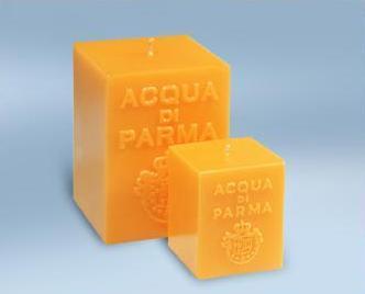 Aqua di Parma: incienso, velas y anillo de terracotta. Cómo aprovechar una vela de calidad