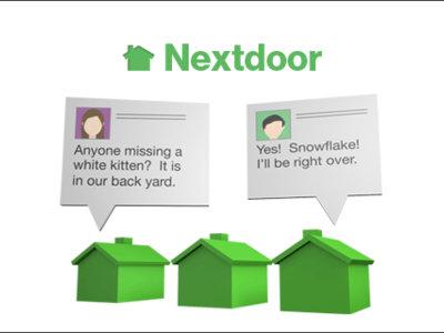 Nextdoor existe porque los periódicos locales perdieron la ocasión de ser Nextdoor