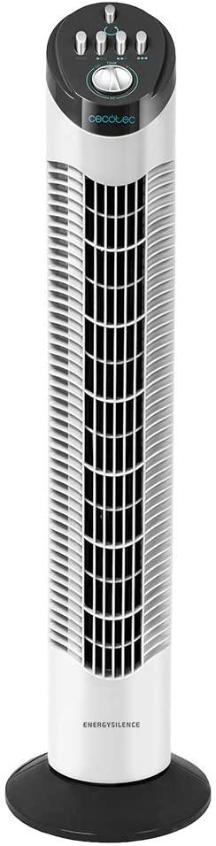 Cecotec EnergySilence 790 Skyline Ventilador de Torre 50W Blanco