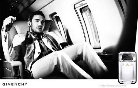 Justin Timberlake para Givenchy