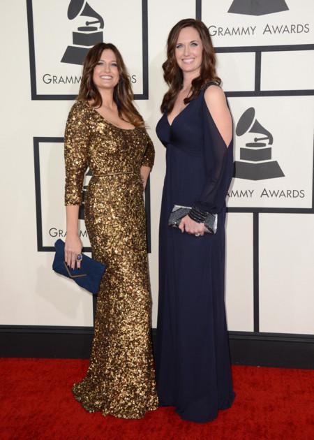 Sarah Dodds y Shauna Dodds Grammy 2014