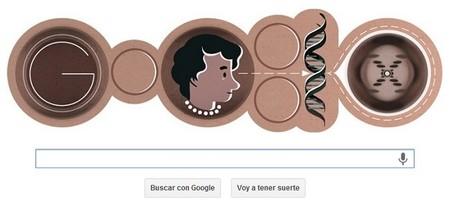 Google homenajea el nacimiento de Rosalind Franklin