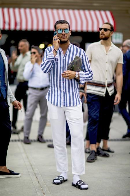 Pantalones Blancos 13