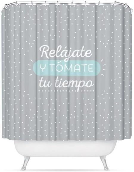 cortina ducha bonita