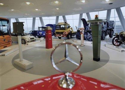Mercedes-Benz Museum en Stuttgart