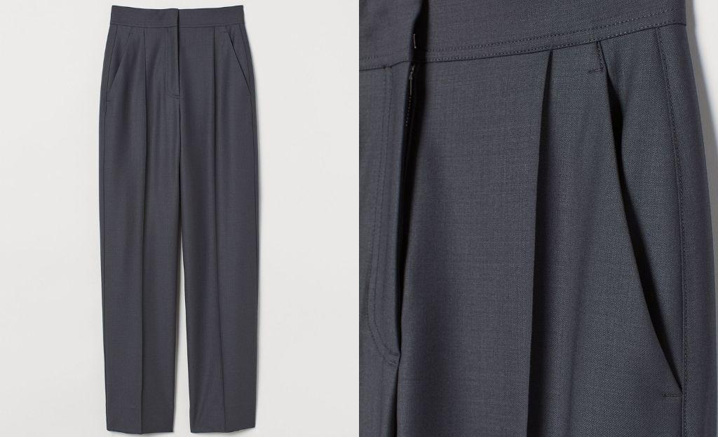 Pantalón en mezcla de lana