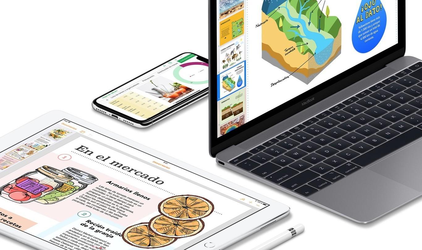 Apple actualiza iWork en iOS y macOS con estilos de texto y más personalización del Apple Pencil