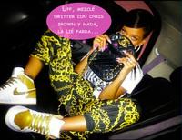 A Rihanna le deben de ir los deportes de riesgo: el último, presumir de novio en Twitter