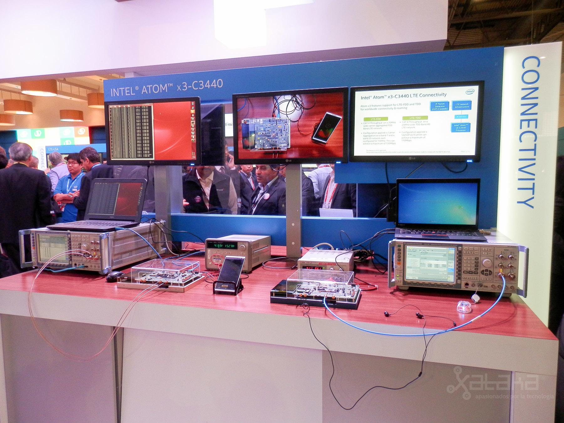 Intel Atom X3 en MWC 2015