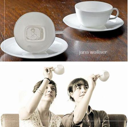 Tea V, tazas con imágenes