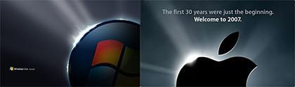 Fondos de Pantalla de Windows Vista Ultimate... ¿Parecidos razonables?