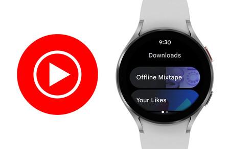 YouTube Music llega a Wear OS 3: ya disponible para los nuevos  Samsung Galaxy Watch4