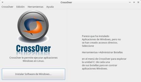 CrossOver, ejecutando aplicaciones de Windows en Linux de manera sencilla