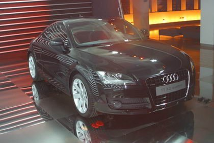 Presentación del Audi TT en Madrid