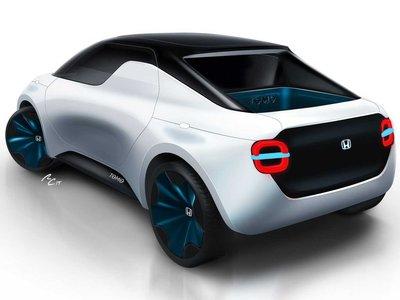 El Honda Tomo Concept es un simpático prototipo capaz de mutar en coupé o pick-up