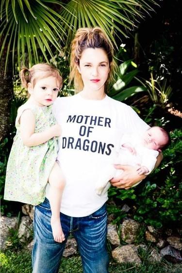 Para Madre de Dragones tenemos a Drew Barrymore