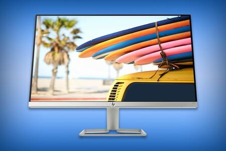 Monitor HP de 24 pulgadas Full HD con bisel ultra delgado por 3,089 pesos: compatible con AMD FreeSync, ideal para gaming