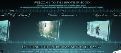 'Assassin's Creed Anthology' en camino con cinco juegos y todos los contenidos descargables incluidos