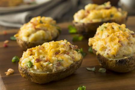 patatas rellenas con atún