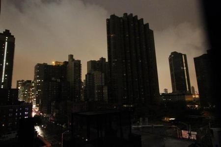 apagón huracán sandy