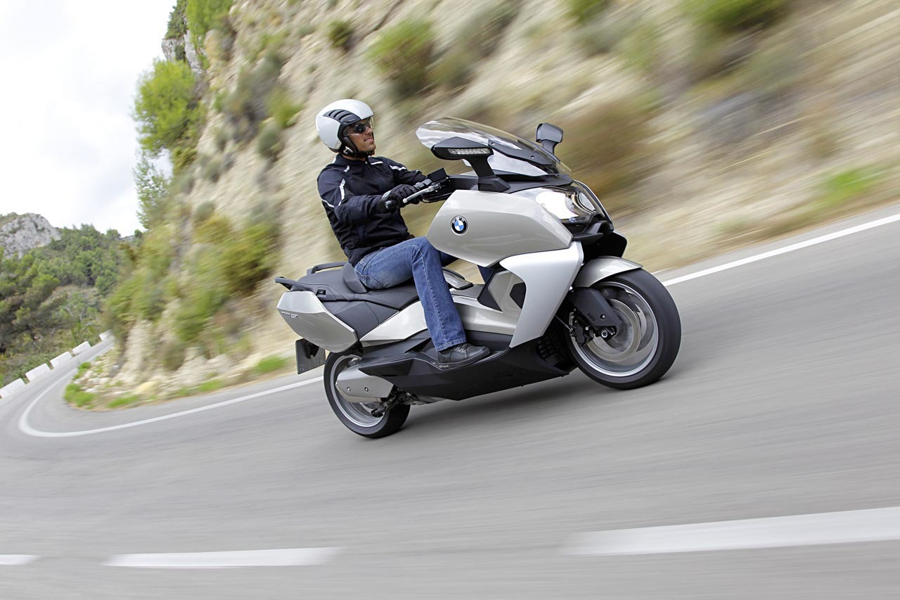Foto de BMW C 650 GT y BMW C 600 Sport, acción (49/83)
