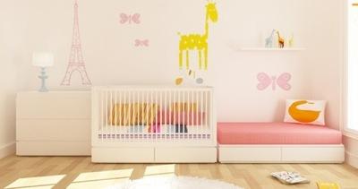 Muebles y complementos imprescindibles en la habitación del bebé