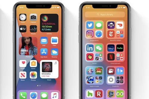 Biblioteca de apps, cuando el iPhone organiza automáticamente las apps por nosotros