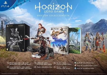 Horizon Zero Dawn Edicion Coleccionista