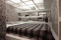 Una mala idea: revestir todas las paredes con pelotas de ping pong