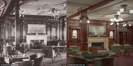 Esta réplica del Titanic zarpará en 2018, y es casi indistinguible del original