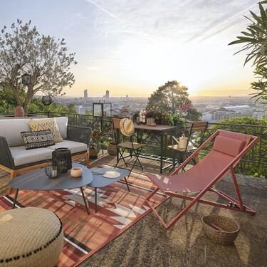 15 artículos de Maisons du Monde para dar un aire renovado a la terraza por menos de 30 euros
