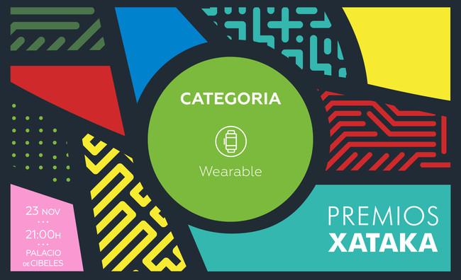 mejor wearable premios xataka 2017