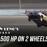 El impresionante accidente de Jay Leno en un auto de 2,500 hp