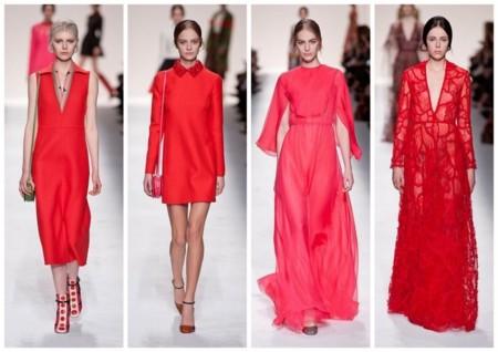 Tendencia Color Rojo Valentino