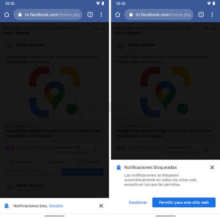 Chrome Notificaciones