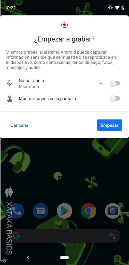 Mostrar Audio