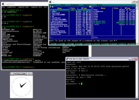 Cygwin 1.7 POSIX en Windows