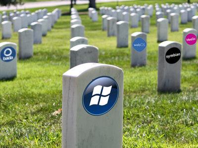 De Palm OS a Windows: el cementerio de los sistemas operativos para móviles