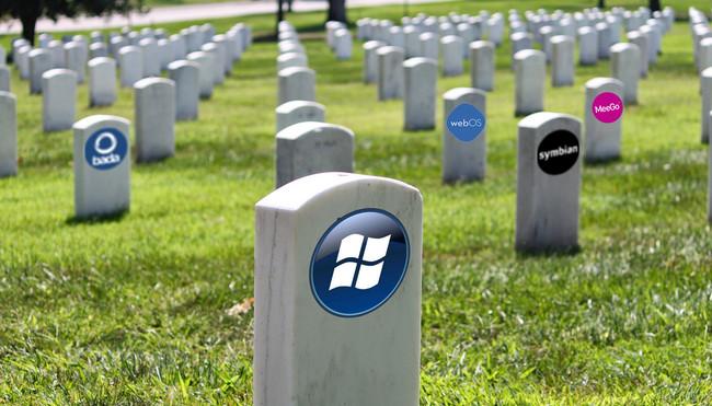 El cementerio de los Sistemas Operativos Móviles